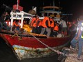 FOTO : Evakuasi Korban KM Santika Nusantara