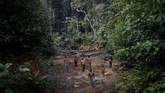 Kebakaran hutan Amazon yang terjadi tahun ini merupakan yang terparahsejak 2013.(REUTERS/Ueslei Marcelino)