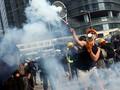 Demo Hong Kong Kembali Ricuh hingga Kim Jong-un Tersenyum