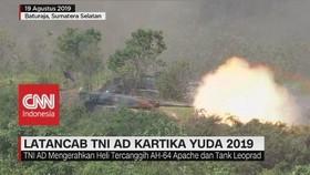 VIDEO: Latihan Tempur TNI AD Kartika Yuda 2019