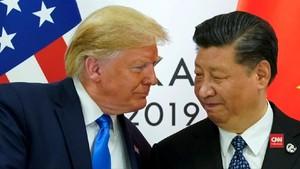 VIDEO: Gejolak Bursa AS Hadapi Perang Dagang dengan China
