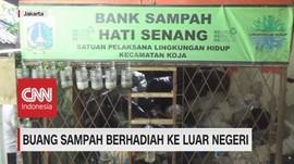 VIDEO: Buang Sampah Berhadiah ke Luar Negeri