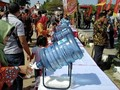 Pesta Rakyat Tanpa Plastik, Ganjar Bariskan Galon Air