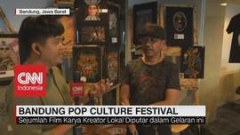 VIDEO: Karya Kreatif di Bandung Pop Culture Festival