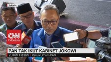 VIDEO: PAN Tak Ikut Kabinet Jokowi