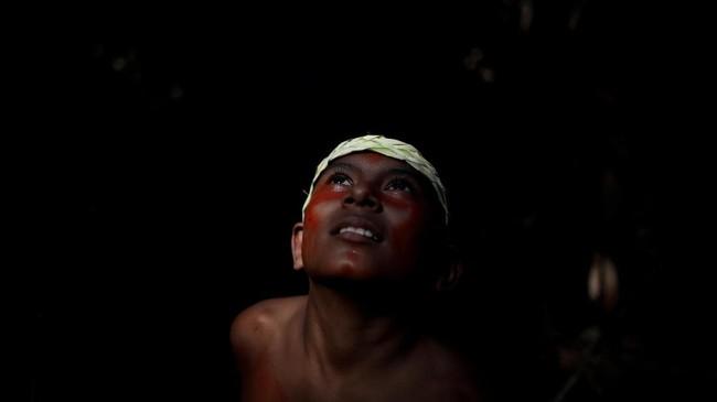 Lembaga penelitian luar angkasa Brasil, INPE memetakan penggundulan hutan Amazon tahun ini meningkat 67 persen dibandingkan periode yang sama setahun silam.(REUTERS/Ueslei Marcelino)