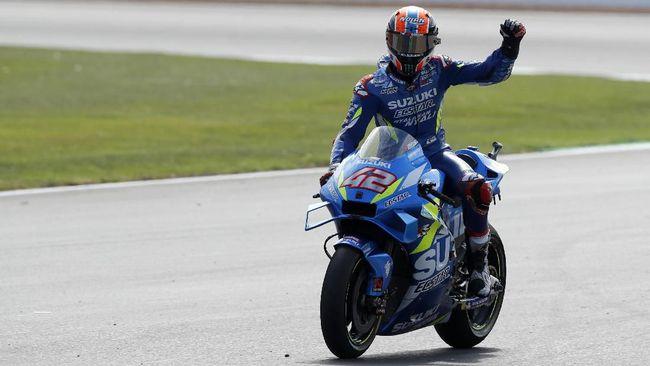 Hasil FP3 MotoGP Aragon: Rins Tercepat, Marquez Terpuruk