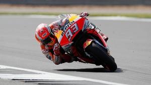 FOTO: Duel Marquez vs Rossi di Kualifikasi MotoGP Inggris