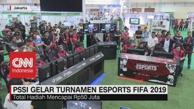 VIDEO: PSSI Gelar Turnamen Esports Fifa 2019
