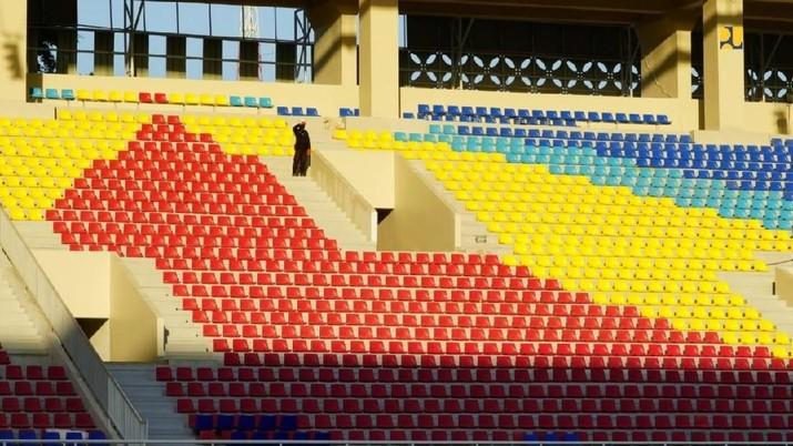 Pembangunan Stadion Manahan Solo Rampung 96%