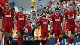 FOTO: Liverpool Hajar Arsenal 3-1, Salah Dua Gol
