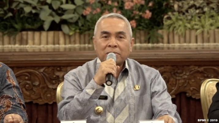 Gubernur Kalimantan Timur Isran Noor membeberkan detail lokasi ibu kota negara Republik Indonesia yang baru.
