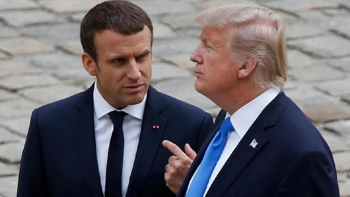 Macron dan Trump