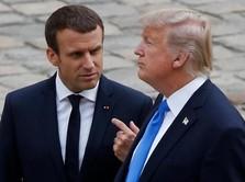 Tabuh Genderang Perang dengan Eropa, Trump: Ini Menyenangkan