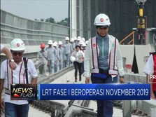 Menteri BUMN : LRT Segera Dioperasikan November 2019