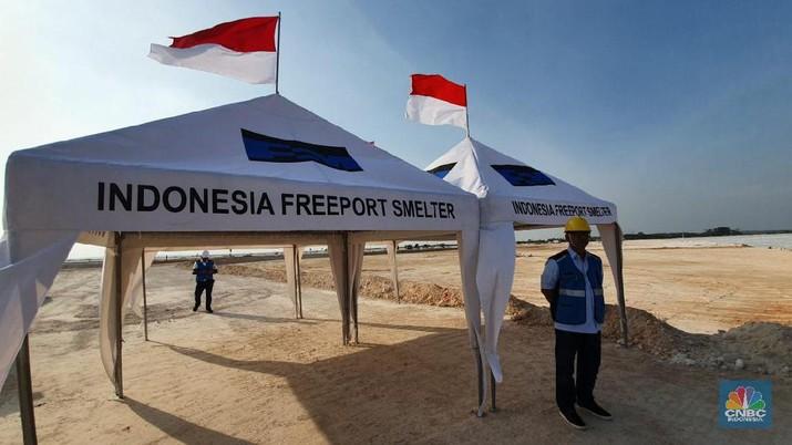 Freeport Sudah Habiskan Rp 2 T Untuk Smelter Gresik
