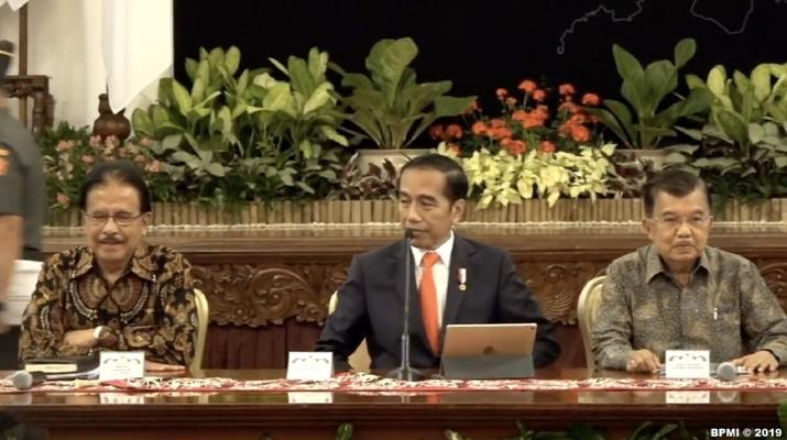Jokowi melayangkan surat ke DPR soal ibu kota pindah ke Kaltim.