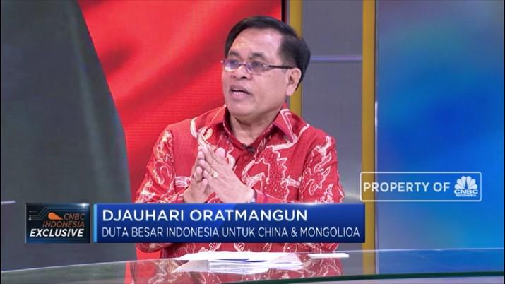 Indonesia Sarang Proyek BRI, Ini Penjelasan Dubes Djauhari (CNBC Indonesia TV)