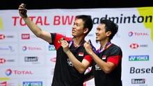 Juara Dunia, Ahsan/Hendra Masih Sulit Samai Catatan 2013