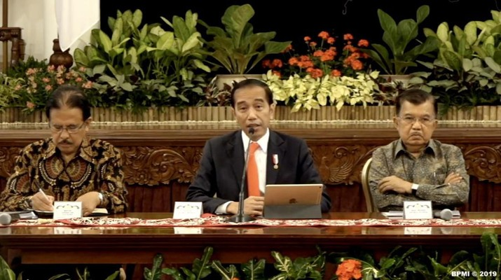 Jokowi mengatakan pemindahan ibu kota ini akan memakan biaya Rp 466 triliun.