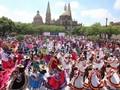 VIDEO: Tarian Rakyat Terbesar Pecahkan Rekor di Meksiko