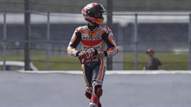 Marquez Belum Berniat Pesta Juara di MotoGP Thailand