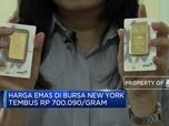 Harga Emas Naik, Rekor Tertinggi Dalam 6 Tahun