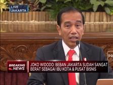 Jokowi Ungkap Alasan Ibu Kota Negara Harus Dipindahkan