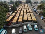 Melihat Deretan Bus TransJakarta yang Mangkrak di Pulogadung