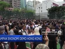 Demo Berkepanjangan, Ekonomi Hong Kong Terganggu