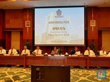 Defisit APBN per Juli 2019: 1,14% dari PDB