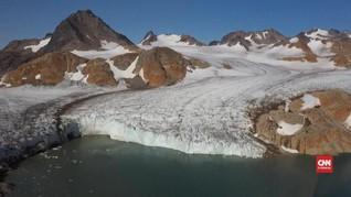 VIDEO: Es Greenland Mencair Akibat Kenaikan Suhu Air Laut