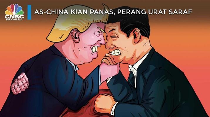 Damai Perang Dagang tak Jelas, IMF Minta AS-China Benahi Niat