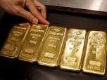 Harga Emas Dunia Naik 2%, Emas Antam 1%, Cuan Gede!