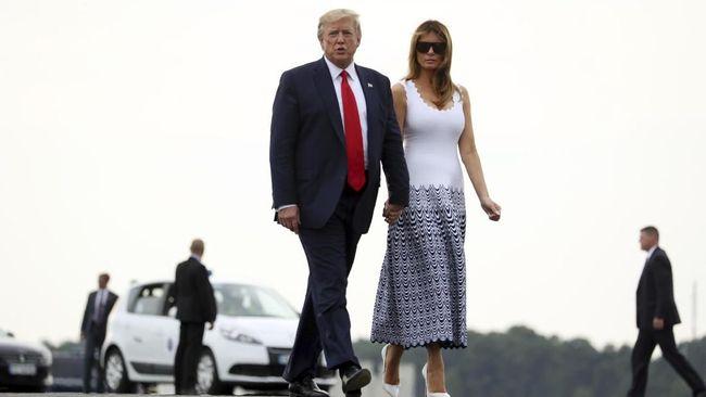 Melania Trump Habiskan Rp390 Juta Per Hari untuk Baju di G7
