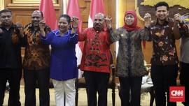 Gubernur Papua soal Penolakan Mahasiswa: yang Penting Aman