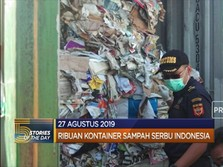 Jorok! Ribuan Kontainer Sampah Serbu Indonesia