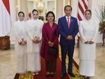 Berkerudung Putih, Comelnya 3 Putri Malaysia di Istana Bogor