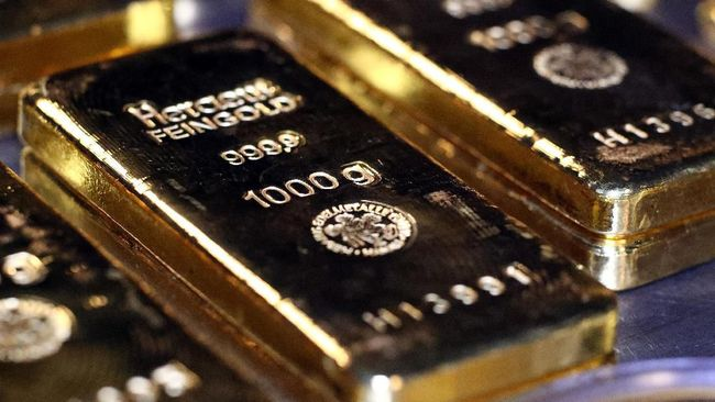 ANTM Sempat Rekor, Penurunan Emas Antam Tak Setajam Emas Dunia