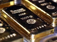 Rekor 9 Tahun! Harga Emas Dunia Akhirnya Tembus US$ 1.800/oz