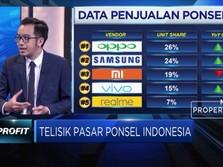Harga Bersaing, Ponsel China Kuasai Pasar Indonesia