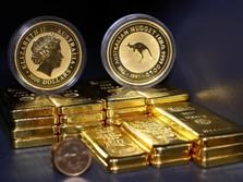 Dolar Beringas, Harga Emas Dunia Dibuat Tak Berkutik