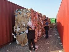Ribuan Kontainer Sampah Impor Masuk RI dari AS Hingga Jerman