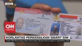 VIDEO: Korlantas Perkenalkan Smart SIM