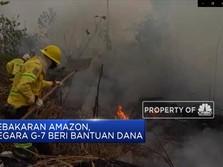 Negara G7 Beri Bantuan untuk Kebakaran Besar di Amazon