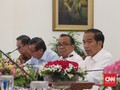 Menhub Kena Corona, Jokowi Gelar Ratas via Video Conference
