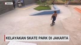 VIDEO: Kelayakan Skate Park di Jakarta