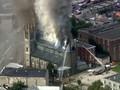 VIDEO: AS Berjuang Lawan Si Jago Merah di Gereja Philadelphia