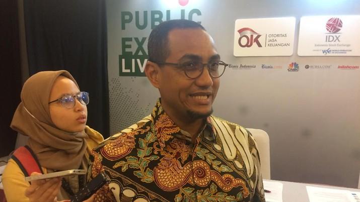 Hasan Fawzi, Direktur Pengembangan BEI/Syahrizal Sidik