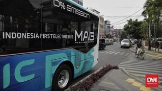 Kemenhub Siap Pasok Kendaraan Listrik di Ibu Kota Baru